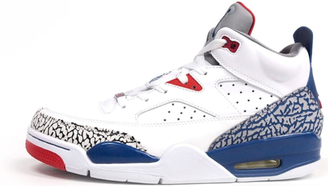 Jordan Son Of Mars Low White True Blue Gym Red Cement Grey Jordan Sole Collector