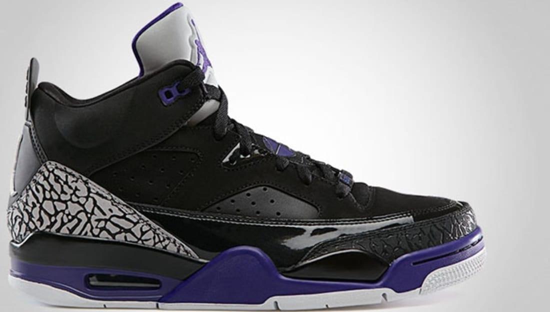 Air Jordan Son Of Mars White Black Purple