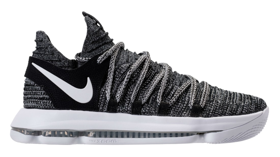 Nike KD 10 All Black White Sole Shoes