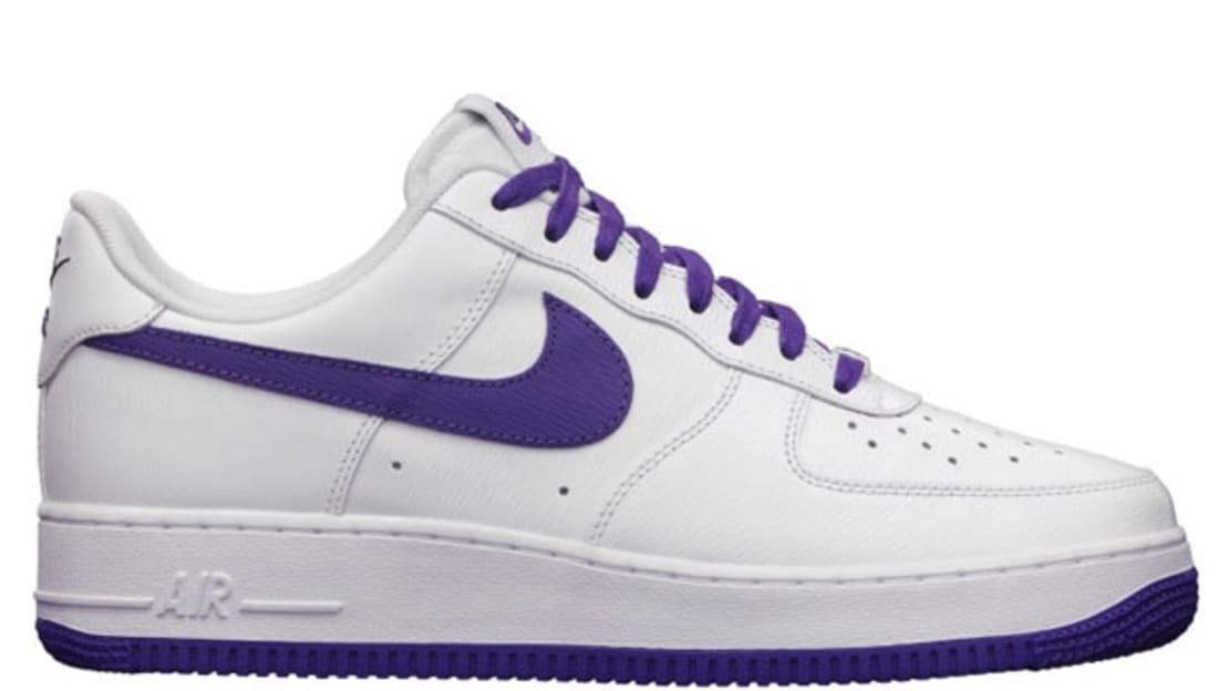 Nike Air Force 1 White Purple