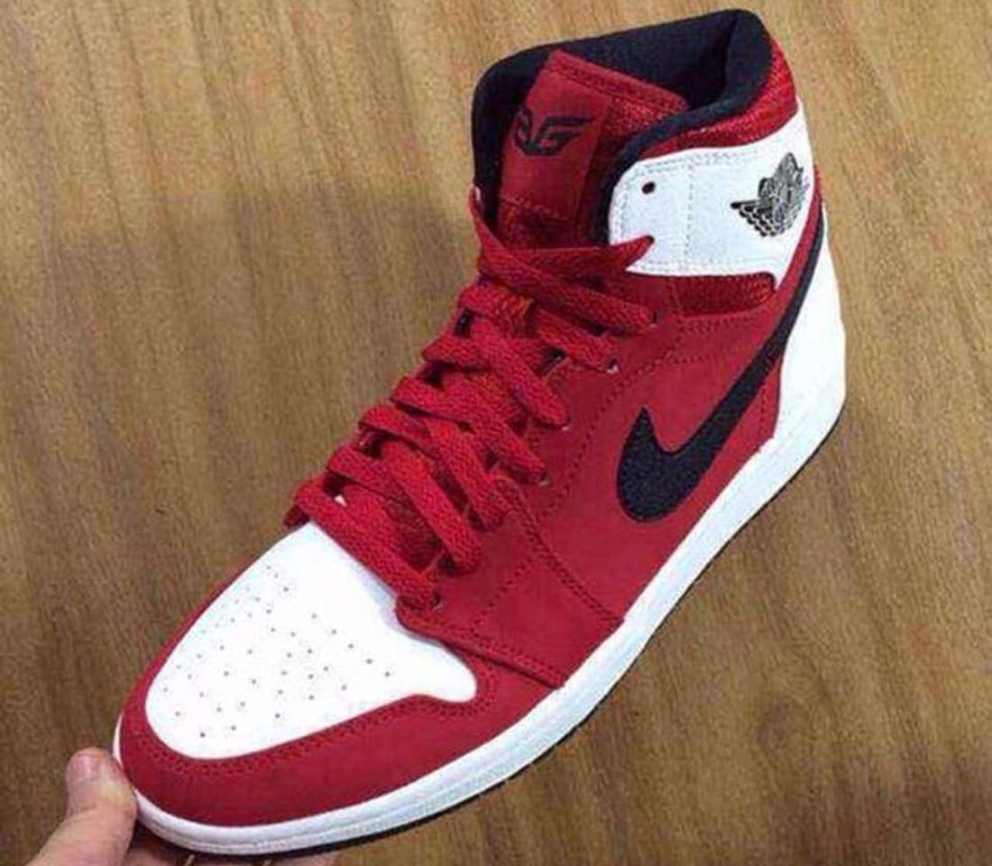 air jordan 1 high red black&white