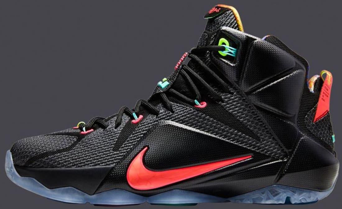Nike LeBron 12 Black Volt