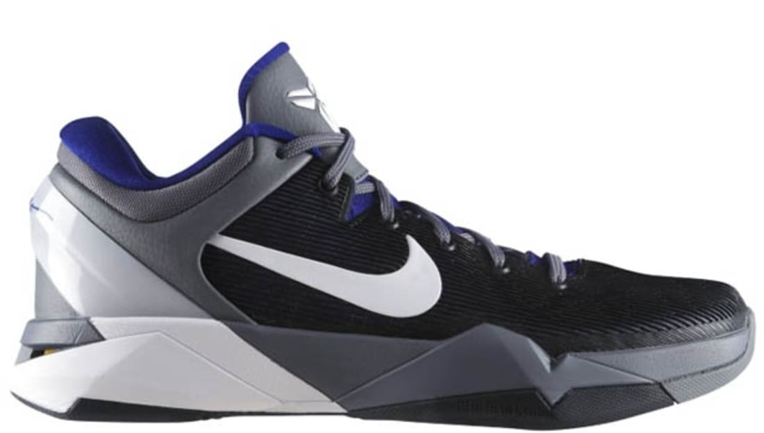 Real Nike Kobe 7 Concord White-Cool Grey-Del Sol 488371-402