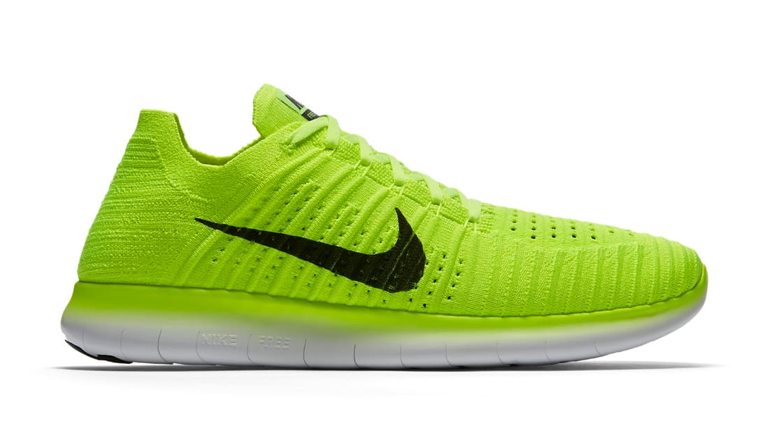 nike free rn flyknit men's running shoe 0