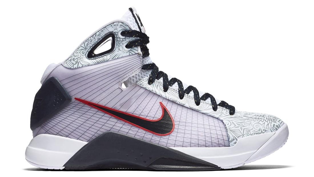 Nike Hyperdunk 08 United We Rise (2008) Sneakers (White/Dark Obsidian)