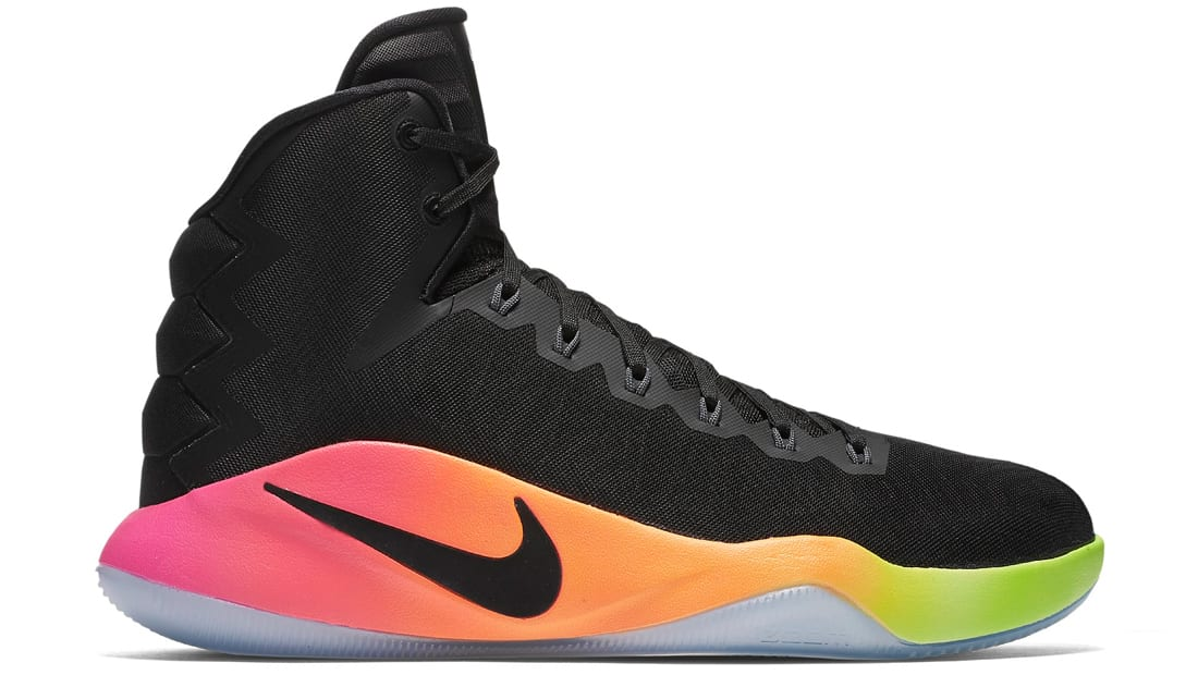 Nike Basketball Hyperdunk 2016 Black 964O