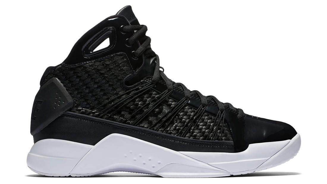 Nike Hyperdunk Lux Black White Sneakers (Black/White)