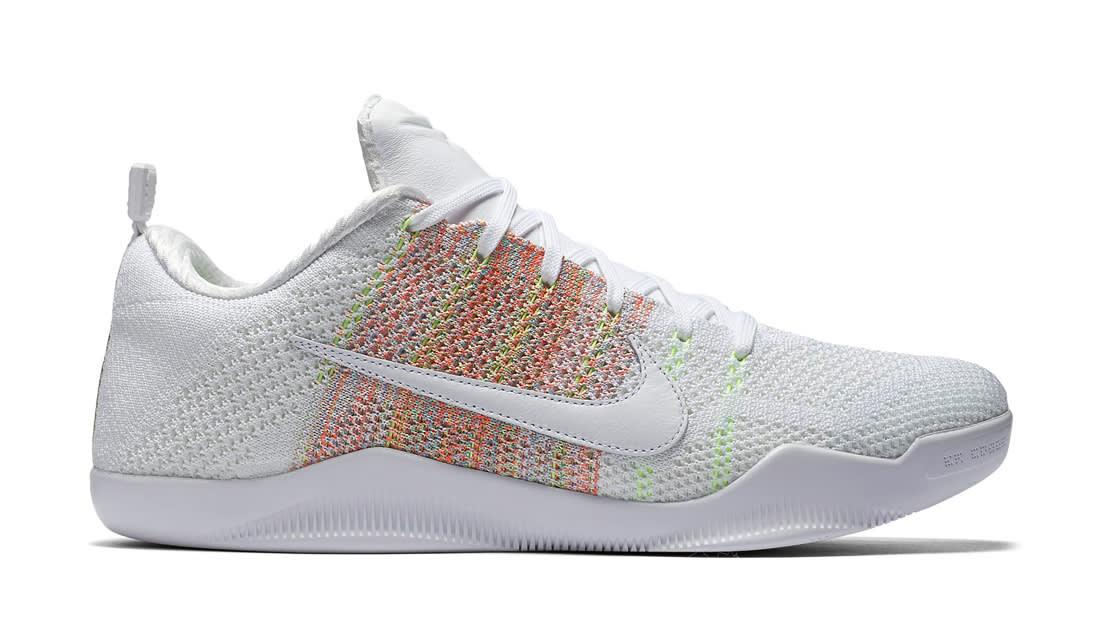 Nike Kobe 11 White Multicolor
