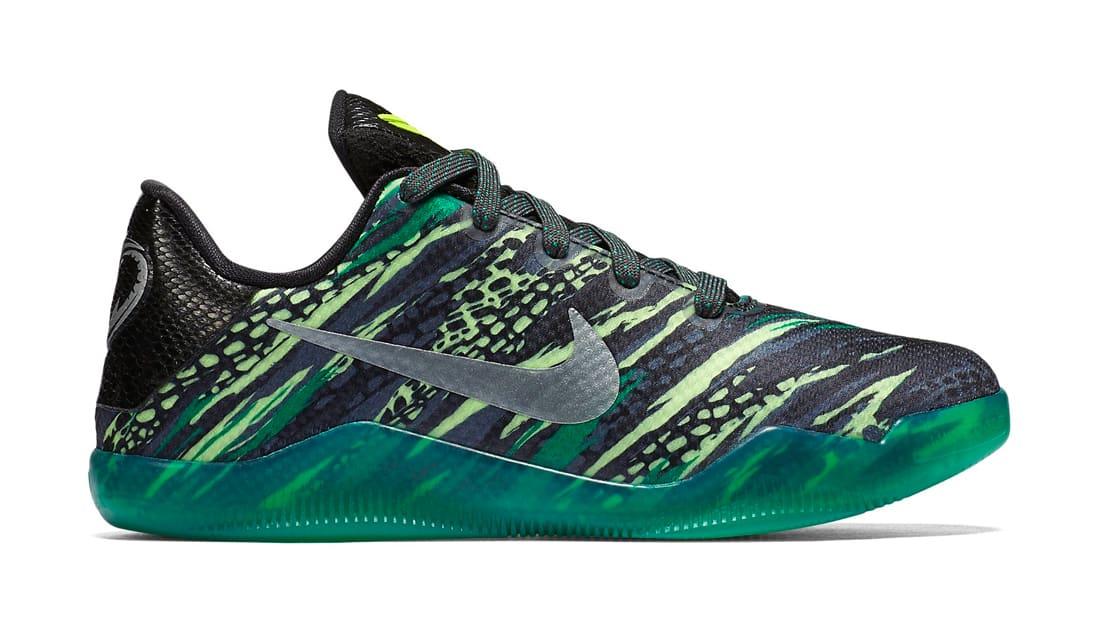 Authentic Nike Kobe 11 Green Snake