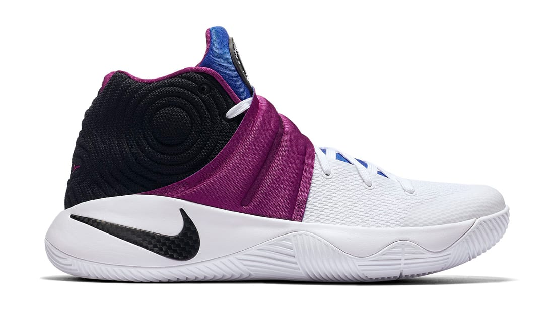 Nike Kyrie 2 Kyrache White-Black-Bold Berry