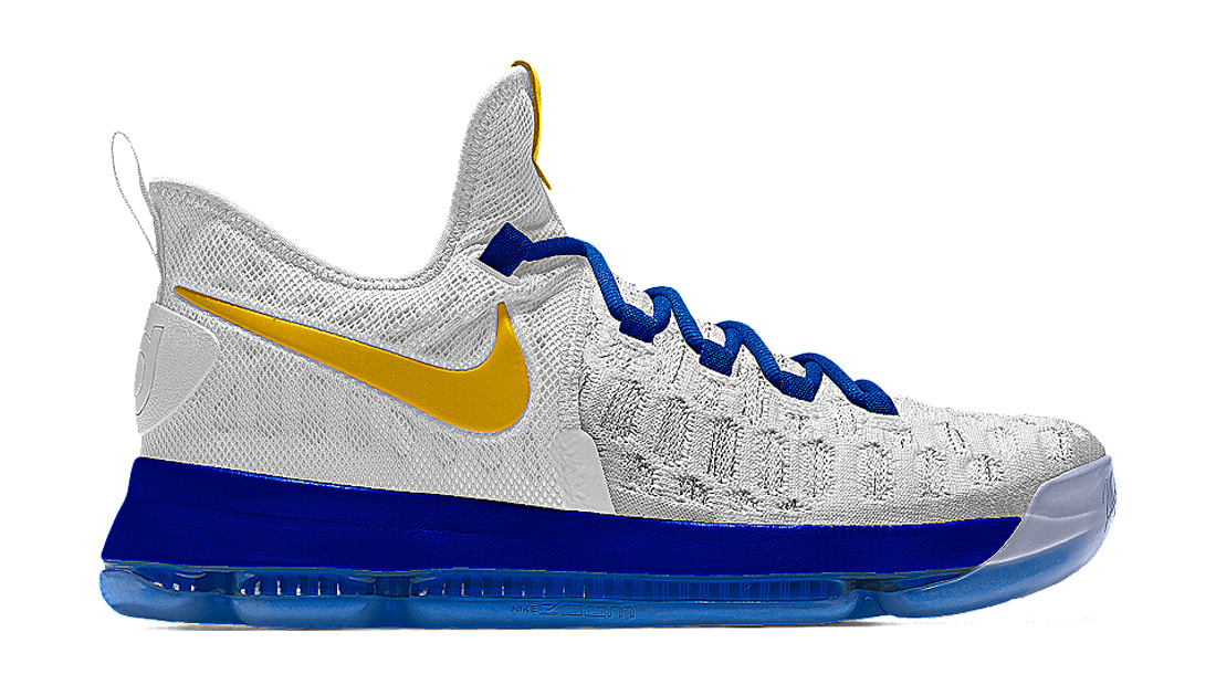 nike kd 9 id golden state warriors nike sole collector