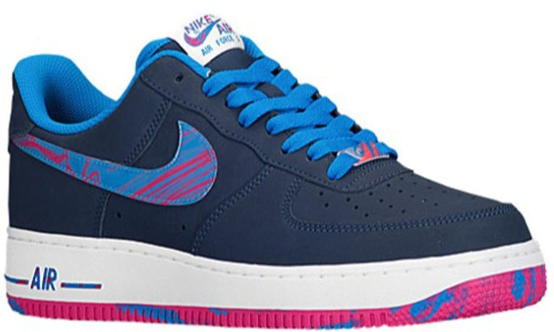 Nike Air Force 1 Low Navy Photo Blue Vivid Pink