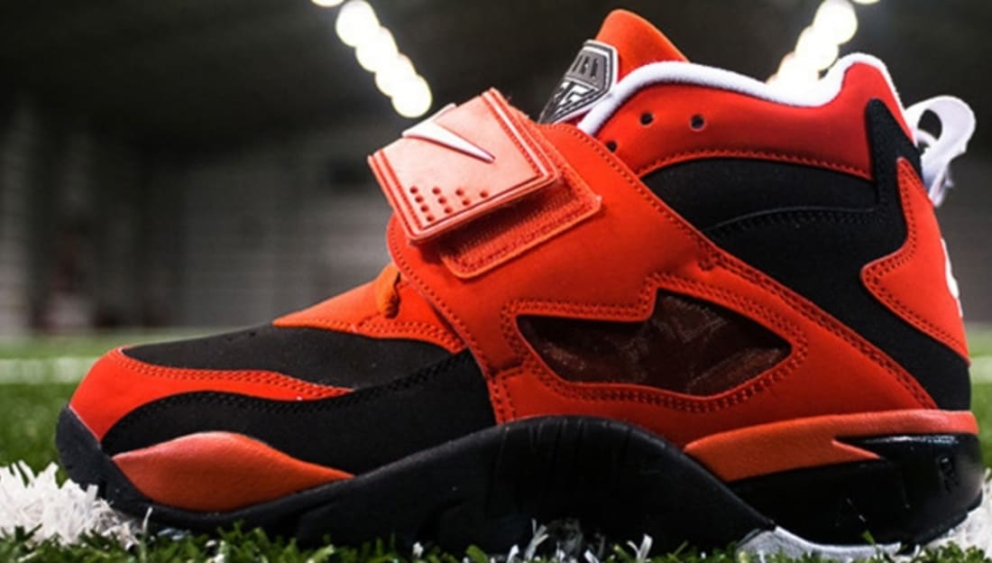 7aff32a7c7 Nike Air Diamond Turf Black/White-Challenge Red   Nike   Sole Collector .