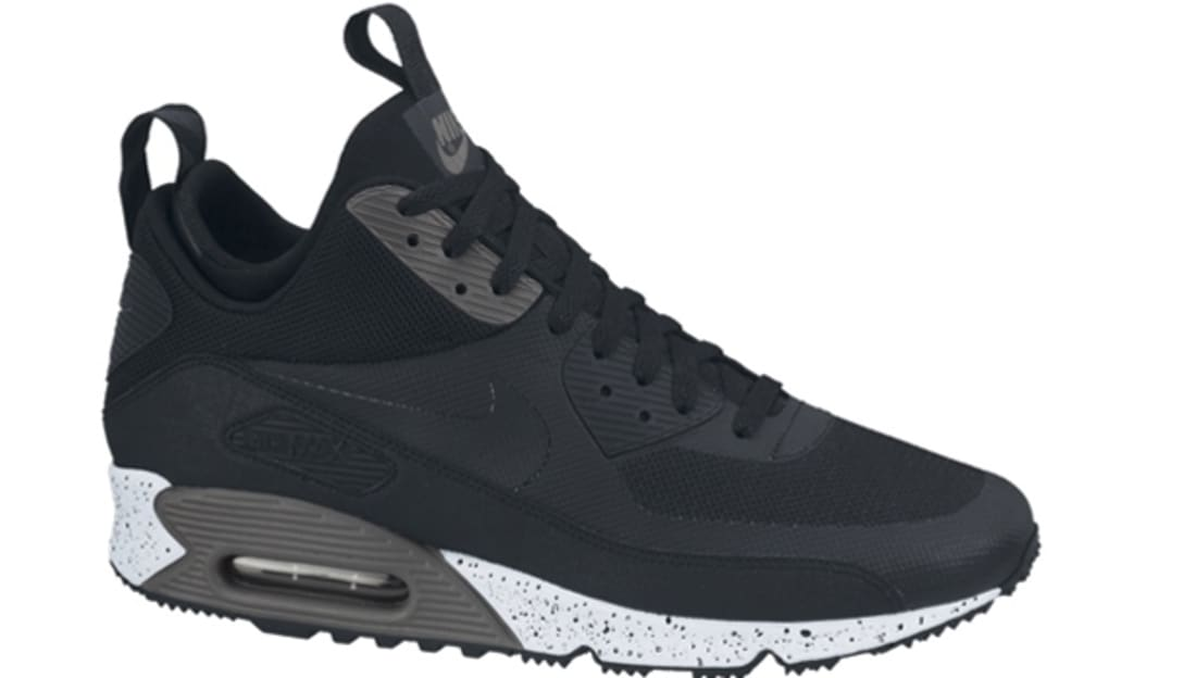 Nike Air Max \u002790 Sneakerboot NS Black/Black-Dark Charcoal-White | Nike |  Sole Collector