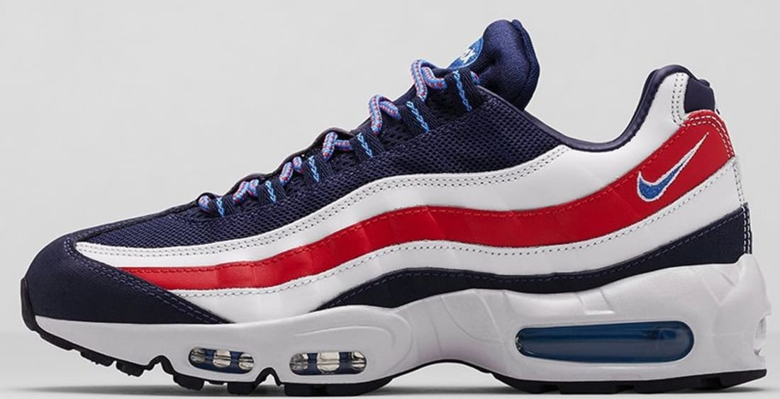 New Nike Air Max 95 Blue White Red