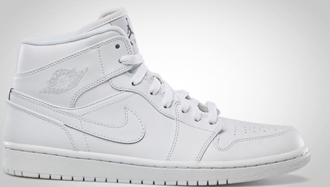 air jordan ones all white