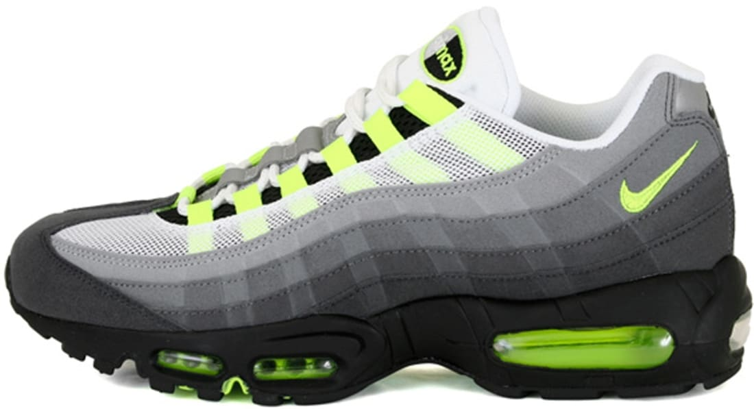 Nike Sneakers Air Max 95 Black Volt Ash