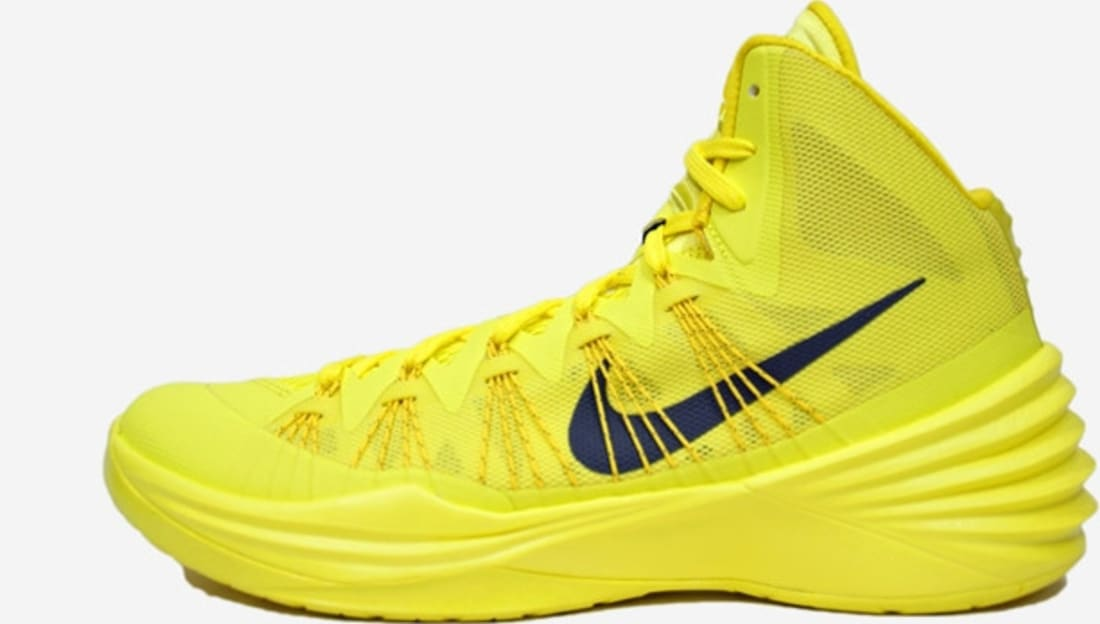 Nike Hyperdunk 2013 Sonic Yellow/Dark Grey-Tour Yellow | Nike | Sole  Collector