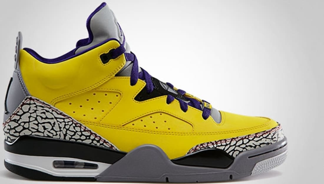 Jordan Son Of Mars Low Tour YellowGrape IceCement GreyBlackWhite  Jordan  Sole Collector