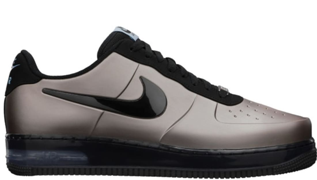 Nike Air Force 1 Foamposite Pro Low QS Flat Pewter/Black-Worn Blue | Nike |  Sole Collector