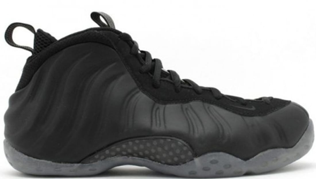 Nike Air Foamposite One Stealth Black Medium Grey Nike Sole Collector