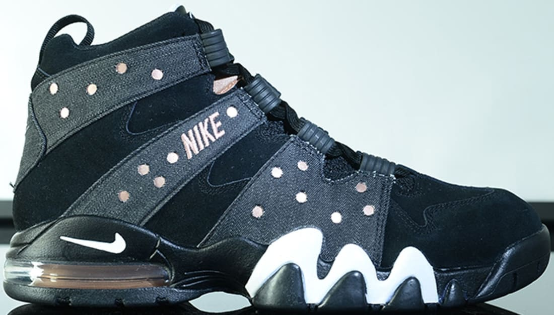 nike - air max2 cb 94 (black metallic red bronze white) turtle