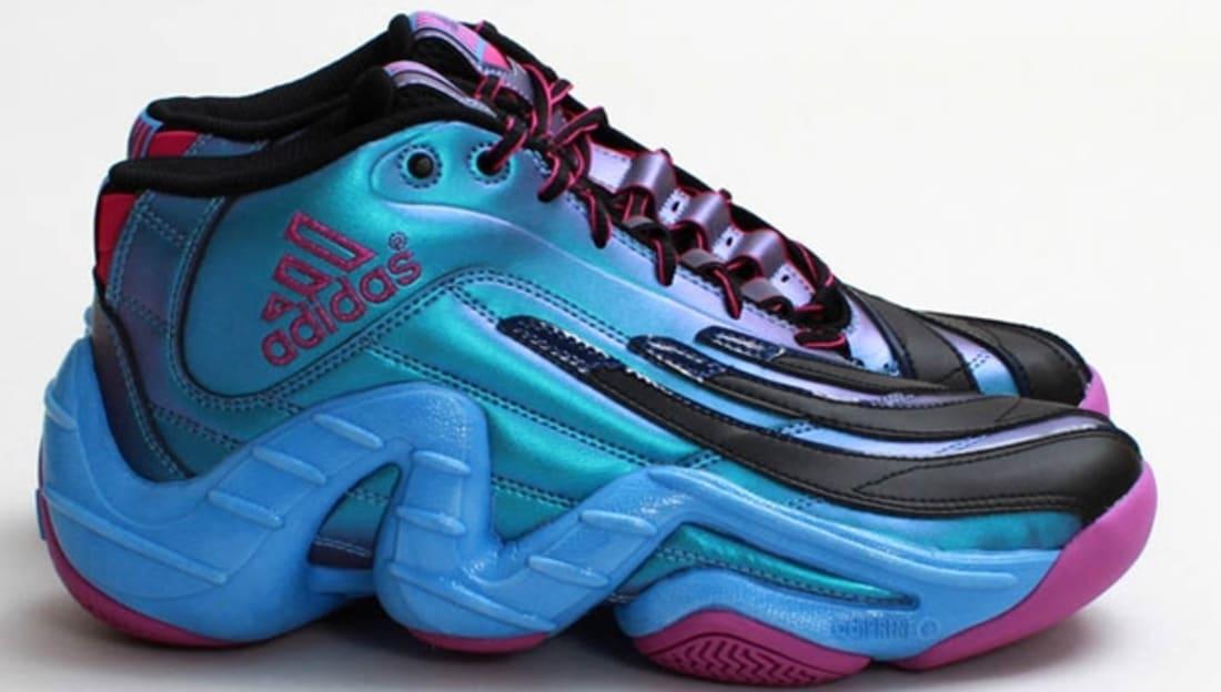 ... adidas Real Deal Iridescent BlackVivid Pink-Joy Blue adidas Sole  Collector adidas Real Deal Black ... 93e62c997