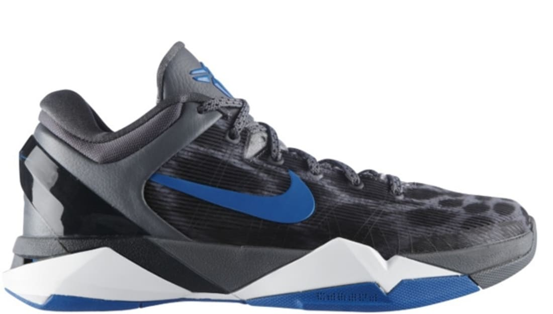Nike Kobe 7 Grey Cheetah Sneakers (Wolf Grey/Photo Blue-Black Cool Grey)