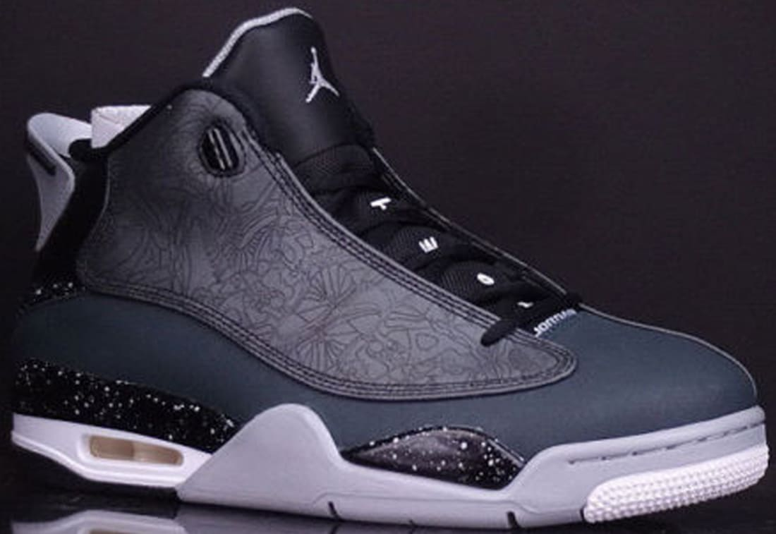 AIR JORDAN DUB ZERO Black/Classic Charcoal/Wolf Grey/White