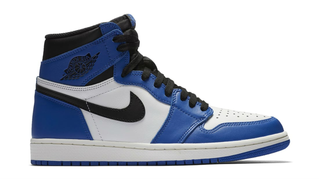 NEW NIKE AIR JORDAN RETRO 1 HIGH OG GAME ROYAL 555088-403 Summit BLACK WHITE
