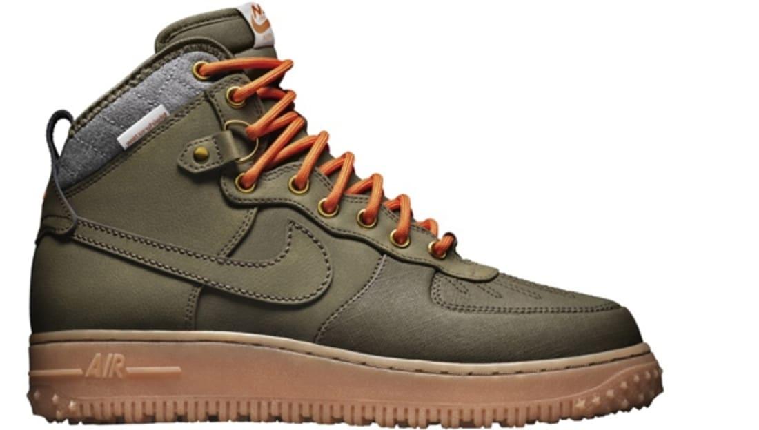 nike air force 1 duck boot dark loden ukm