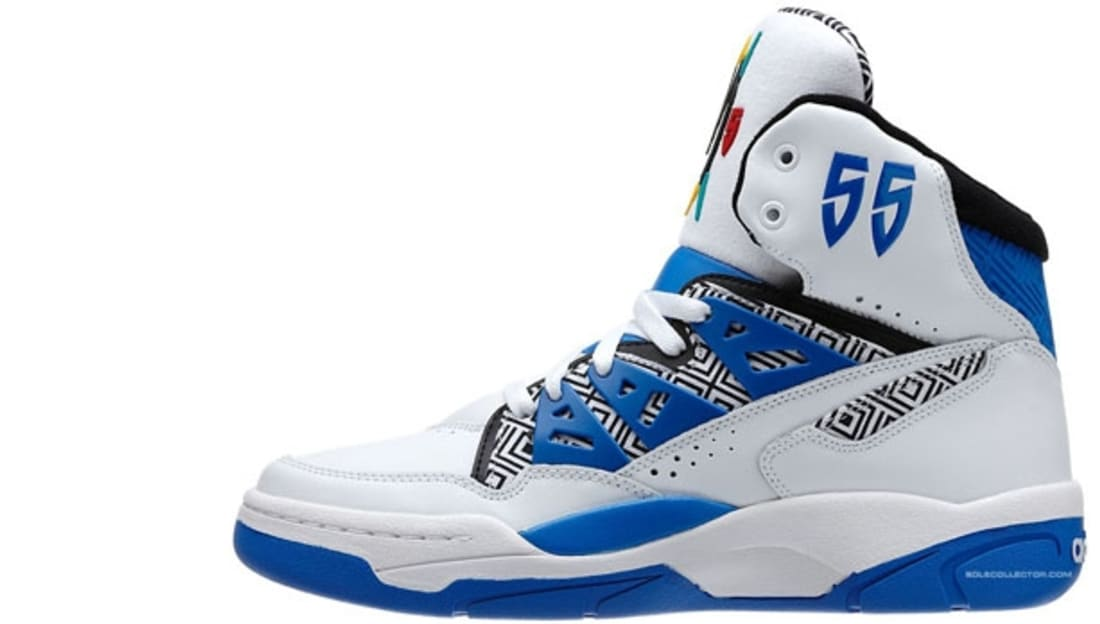 GET Adidas Mutombo White Blue