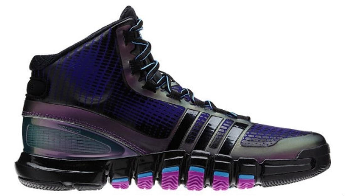 fe18d9127b7 ... Crazyquick BlackPurple-Teal adidas Sole Collector adidas Crazyquick  Black Purple Teal G66129 (3) Adidas CrazyQuick Teal Purple Mens Basketball  Shoes ...