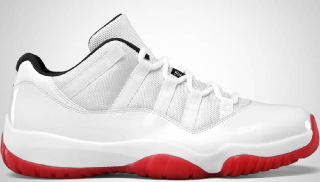 Cheap Nike Air Jordan 11 Low - Varsity Red #528895-101