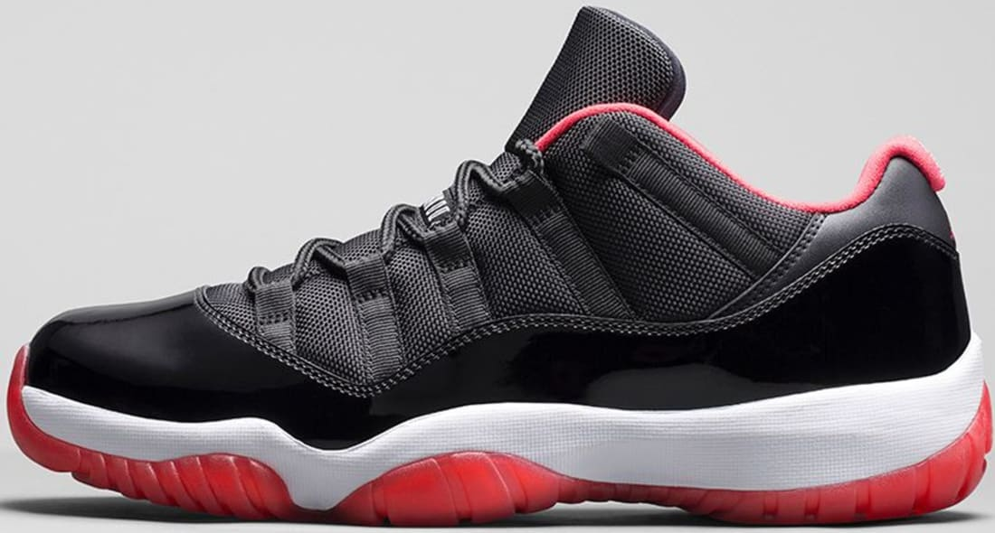 air jordan 11 retro low true red' $170 pesos