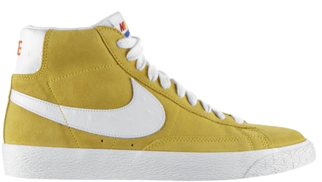 nike blazer yellow sole adidas