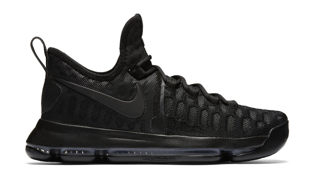 Nike KD 9 Black Space Black Black Anthracite