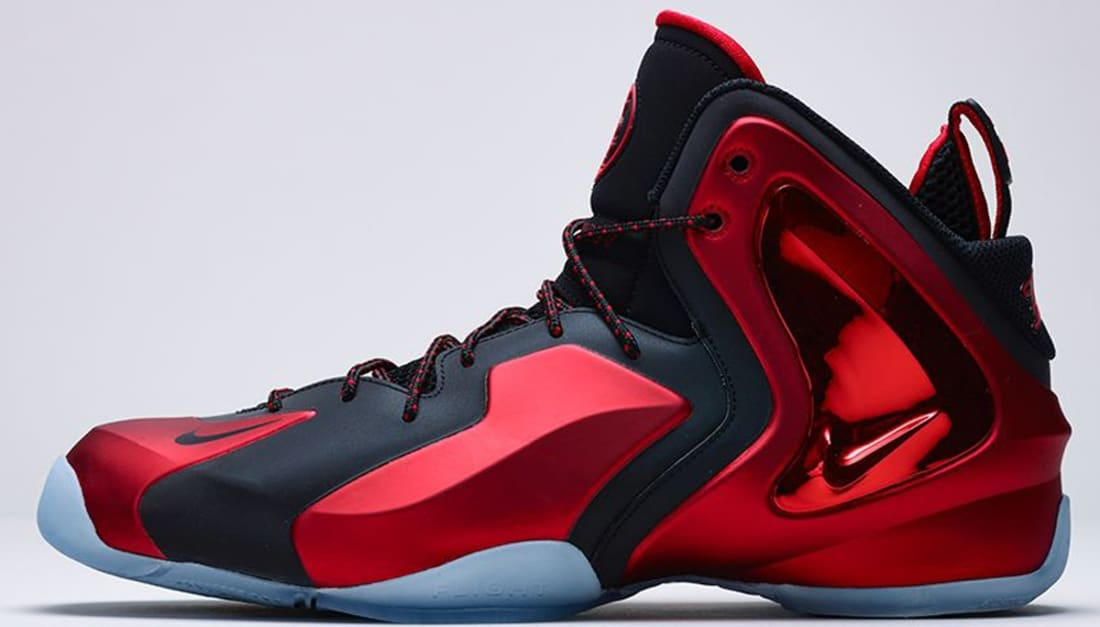 Nike Lil Penny Posite University Red Sneakers (University Red/Black-University Red)
