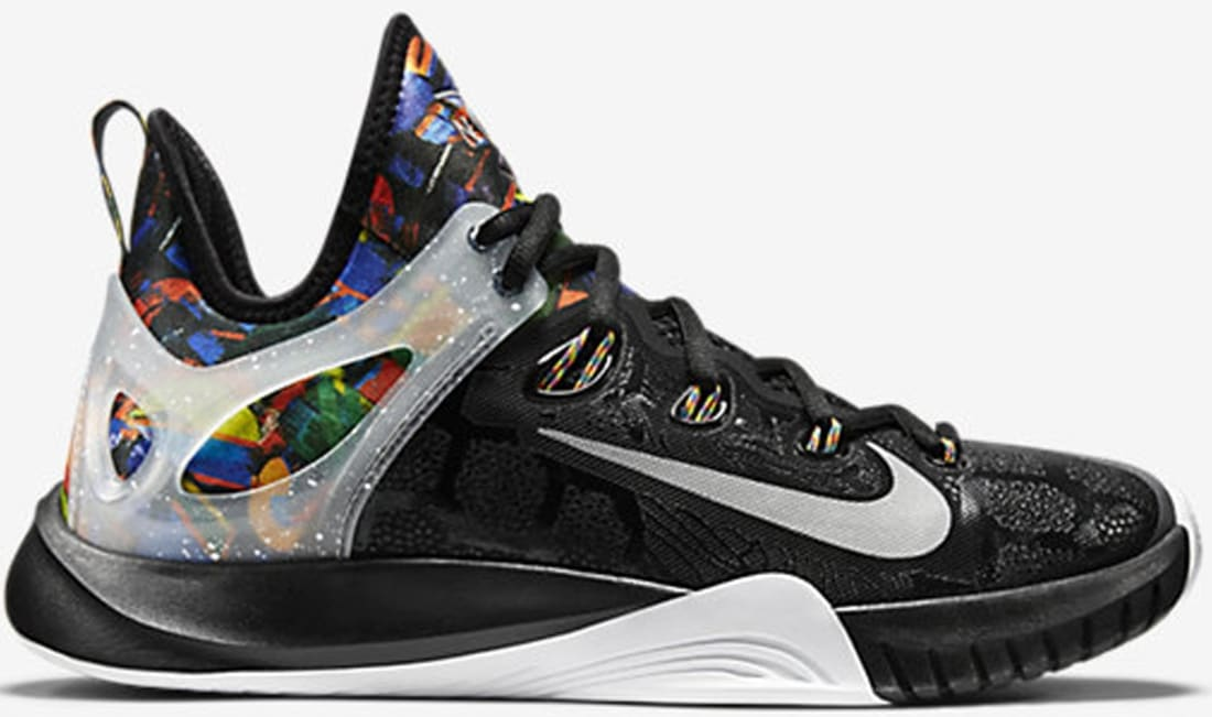 NIKE ZOOM HYPERREV 2015 PREMIUM Multi-Color/Black/Reflect Silver