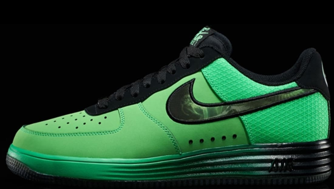 info for 35ea5 2a302 Nike Lunar Force 1 LTR Poison GreenBlack Nike Sole Collect ...