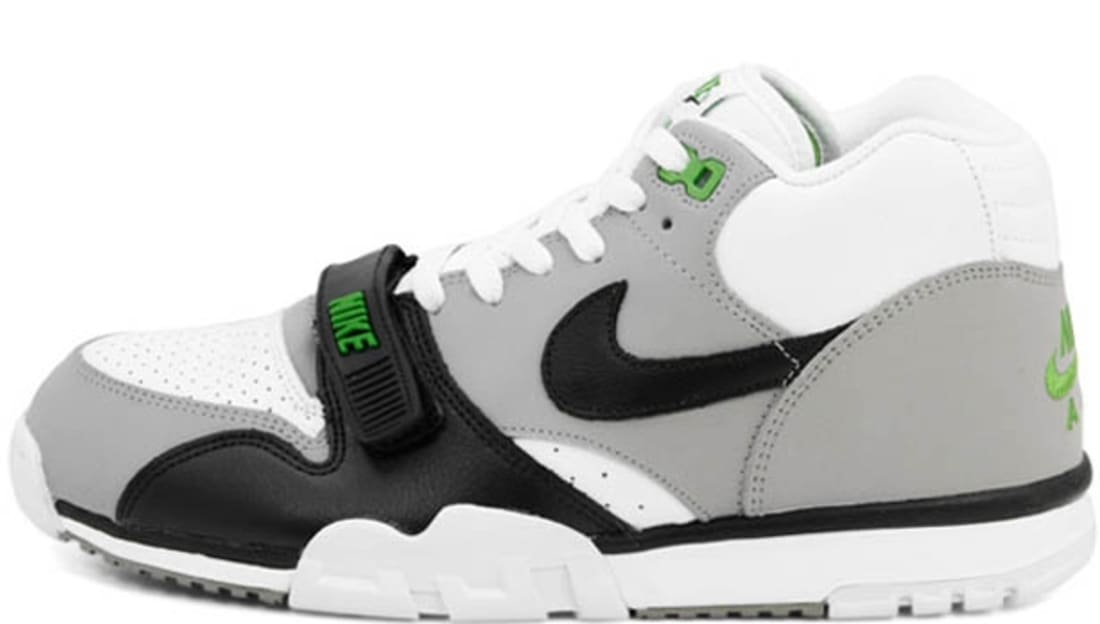 AIR MAX TRAINER 1 - Sports shoes - medium grey/chlorophyll/white/black