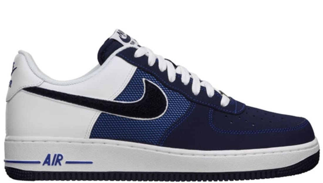nike air force 1 low game royal/blackened blue-white flowmeter