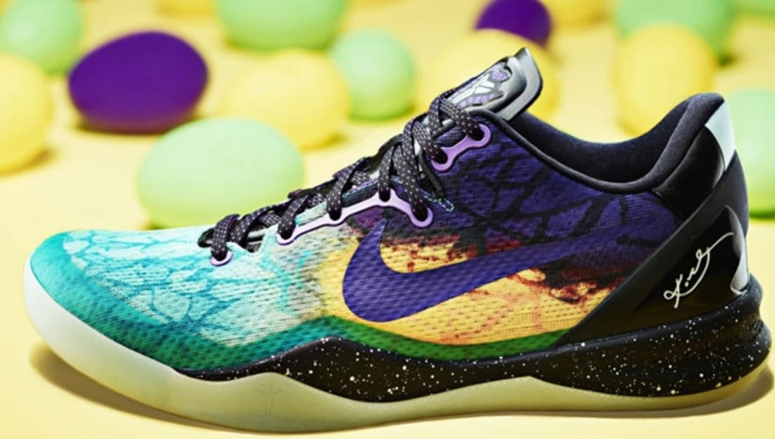 Top Quality Nike Kobe 8 VIII Easter Fiberglass Court Purple-Blac