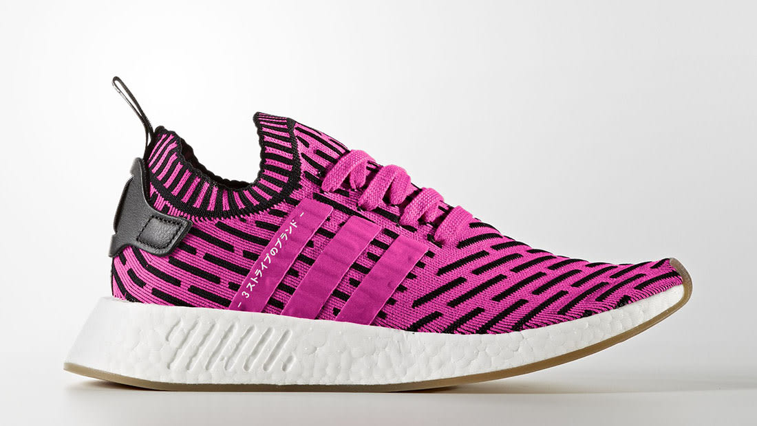adidas Adidas NMD_R2 Primeknit Shock / Shock / Core Black