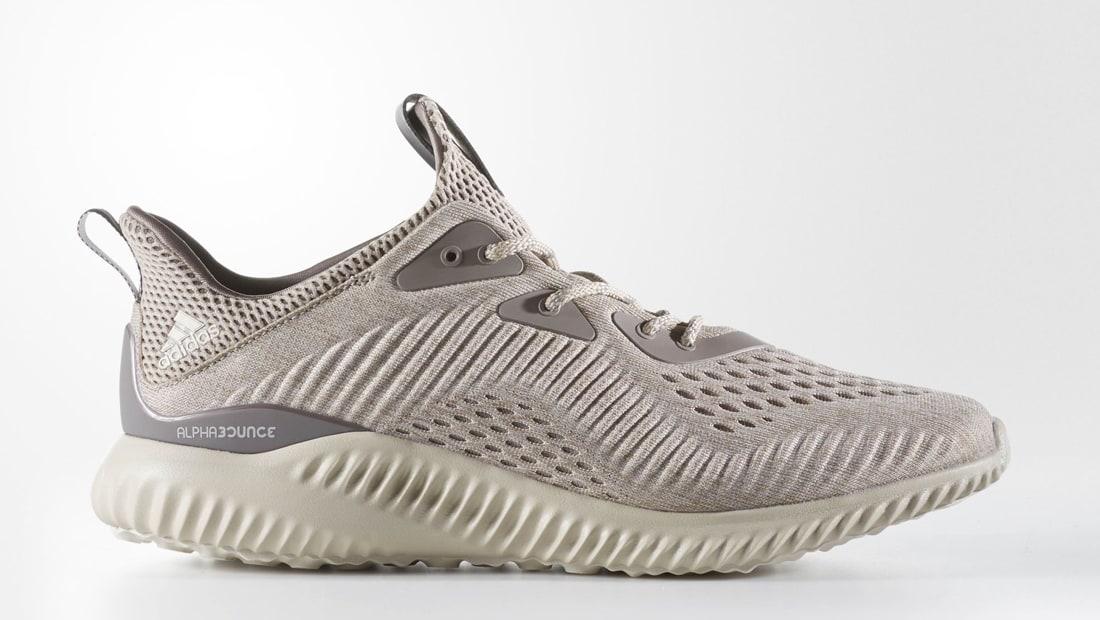 Adidas AlphaBounce EM Tech Earth / Clear Brown-Crystal White