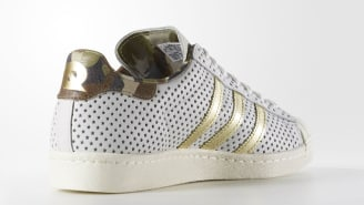 Cheap Adidas X Pharrell Supercolor Superstar Trainers in Blue Urban