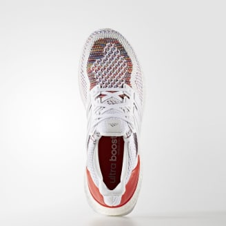 timeless design 4a2ea 756c0 adidas Ultra Boost Ftwr White Ftwr White Red (Multicolor 2.0). Original  Sales Price.  180. 5 Images