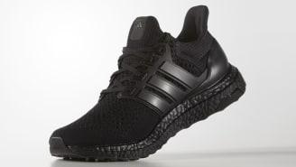 UA Adidas Ultra Boost 3.0 Black Black-gray