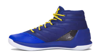 74008a6f9074 5 Images. Description. Steph Curry s new signature sneaker officially makes  its debut with the release of the Under Armour Curry 3