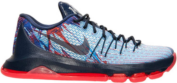 finest selection e9453 3ea55 2492  All Release Dates Nike Releases Dates Air Jordan Releases Adidas  Release Dates  KD 8 Independence Day Soar Midnight Navy Bright Crimson  White Shoes ...